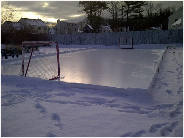 How To Make Your Backyard Ice Rink Easy