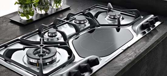 How to use a camping stove along with kitchen stove?